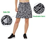 slimour Women Print Golf Skirt Travel Skirts with