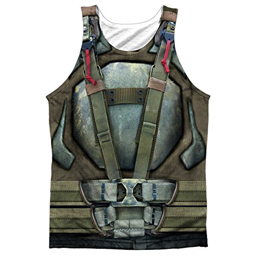 The Dark Knight Rises Bane Uniform Unisex Adult Front Print Sublimated Tank Top For Men and Women