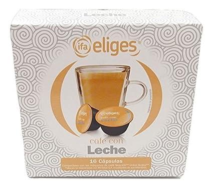 Ifa Eliges Café con leche - 16 cápsulas compatibles Dolce ...