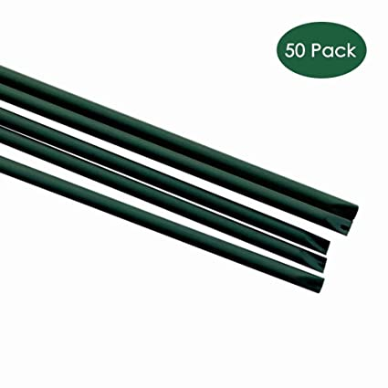 "EcoStake Garden Stakes 3//8/"" Dia 6 FT FRP Plant for Climbing  Cucumber Strawberry"