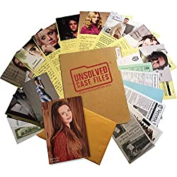 UNSOLVED CASE FILES   Banks, Julia - Cold Case Murder Mystery Game   Can You Solve The Crime?