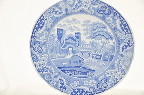 Room Plate Collection Dinner Blue (Spode Blue Room Collection Tradition Series CASTLE Dinner Plate)