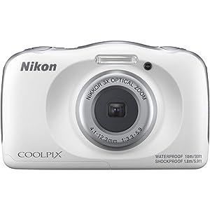 Nikon 26530 COOLPIX W150 13.2MP (White) - (Renewed)