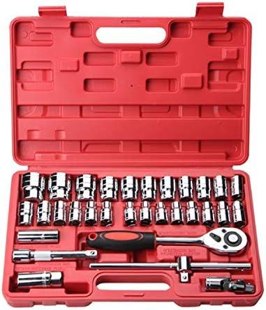 32-teiliger Autoreparatursatz für Motorreparatur, Reifen usw. Autoreparaturkombination,Einfach zu bedienen