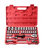 Your only family Practical Auto Repair Kit for Engine Repair, Tires, Etc. Auto Repair Combination 32-Piece Durable
