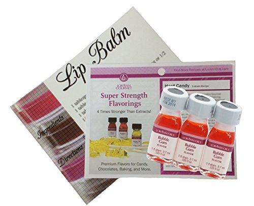 All Natural Lip Balm Flavor Oils - 1
