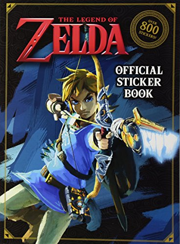 Nintendo Legend of Zelda Official Sticker Book 01/02/2018