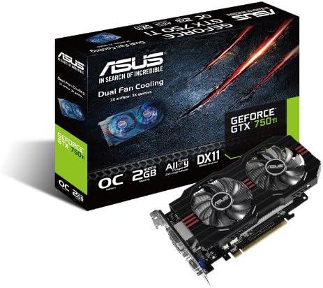 ASUS GTX750TI-OC-2GD5, Tarjeta gráfica Nvidia GeForce GTX 750 Ti ...