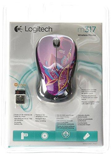 Logitech Wireless M317 Paisely 910 003705