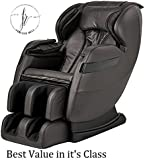 2018 BEST VALUED MASSAGE CHAIR BY FOREVER REST (3 COLORS AVAIL) FR-5Ks PREMIER BACK SAVER, SHIATSU, ZERO GRAVITY MASSAGE CHAIR WITH FOOT ROLLING AND BUILT IN HEAT, STRETCH & SWING MODE