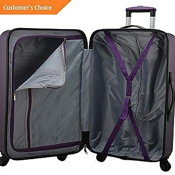 Amazon.com | Sandover Elite gage Sunshine 3 Piece Hardside Spinner gage gage Set NEW | Model LGGG - 4190 | | Luggage Sets