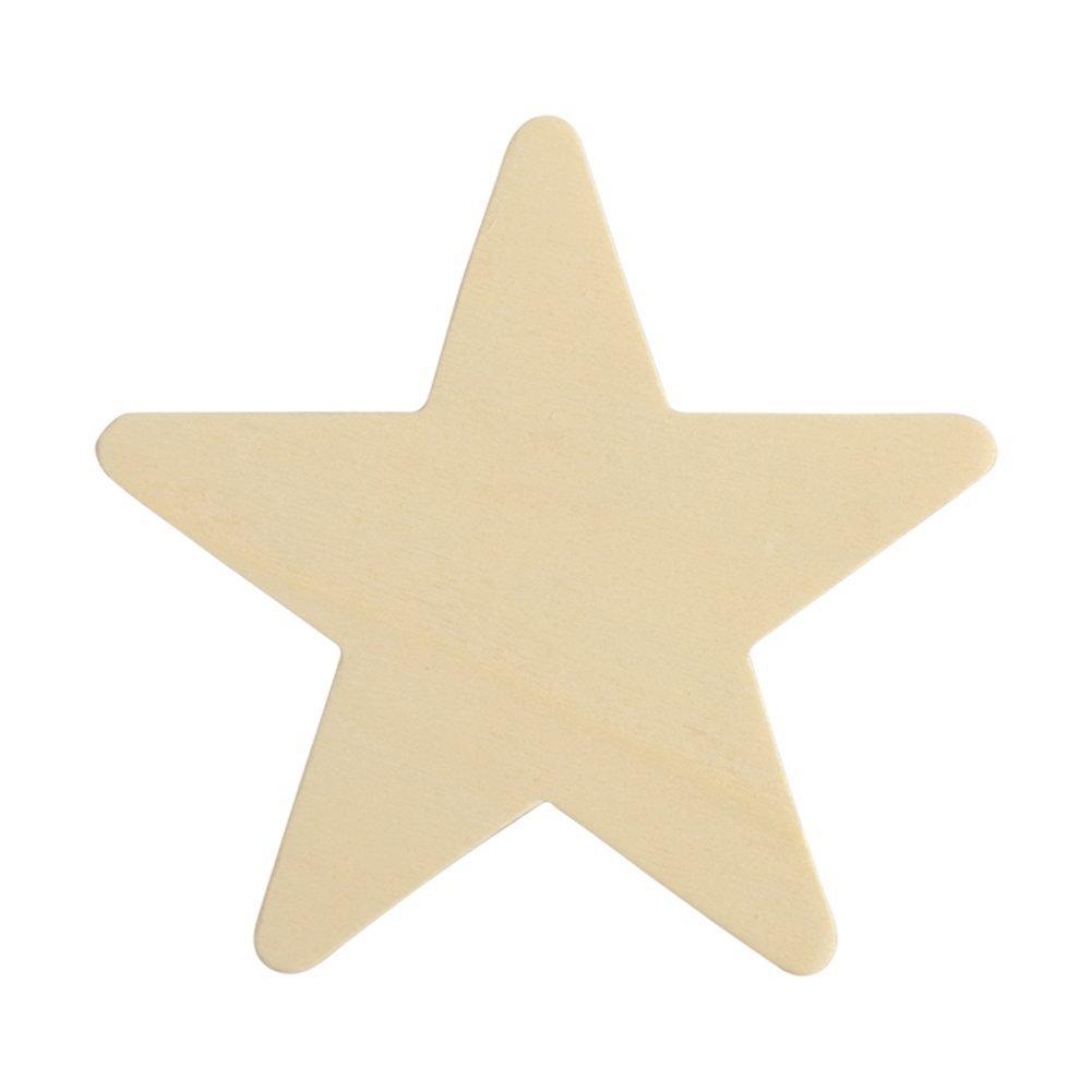 Wooden Stars 4'' X 4'' 25 Pkg Woodpeckers®