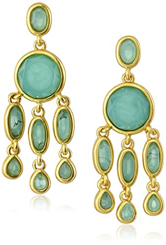 Karen Kane Baja Jade Chandelier Drop Earrings