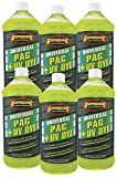 TSI Supercool 27897-6CP Universal Synthetic PAG Oil with U/V Dye, 1 quart, 6 Pack