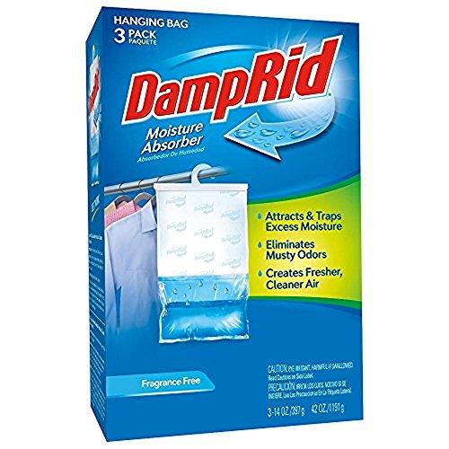 DampRid 42 oz. Fragrance Free Hanging Bag (3-Pack) by DampRid
