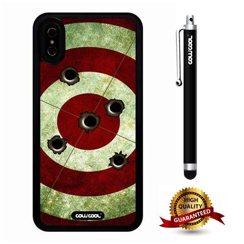 pretty nice 598b5 9971b Amazon.com: iPhone X Case, Target Case, Cowcool Ultra Thin Soft ...