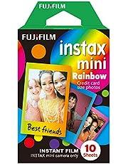 Fujifilm Instax Mini Instant Film, regenboog, enkele verpakking