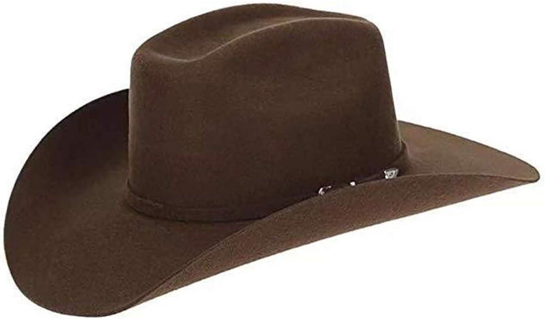 Chapéu Chapelaria Vintage Australiano Marrom