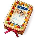インスタ風写真ケーキ S バースデーケーキ 生クリームのショートケーキ Birthday
