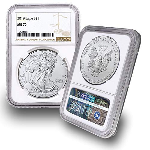 (2019 American Silver Eagle $1 MS70 NGC)