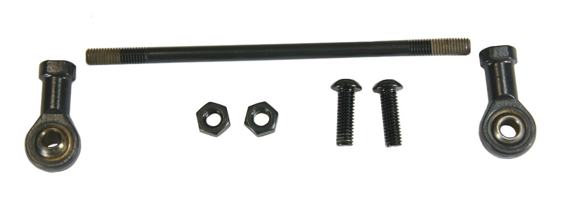 Raider, KIT-6050B-H, Black Shift Rod Linkage Kit for Forward Controls 2004-2013 Harley XL Sportster models
