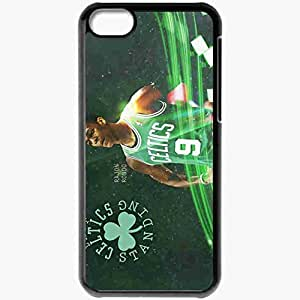 Personalized iPhone 5C Cell phone Case/Cover Skin 3 Rajon Rondo The Last Celtic Standing 1680x1050 basketwallpapers.com Black