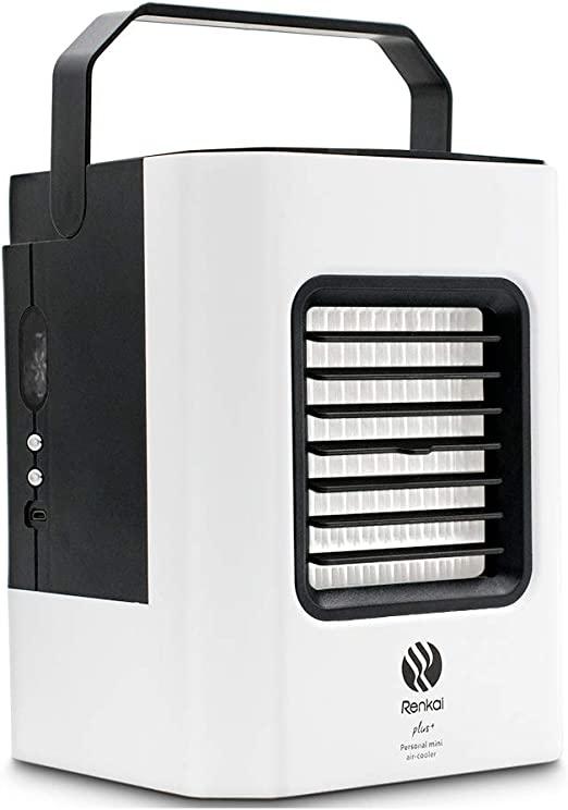 GRELEE Mini Aire Enfriador,Aire Acondicionado Móvil, 4 en 1 ...