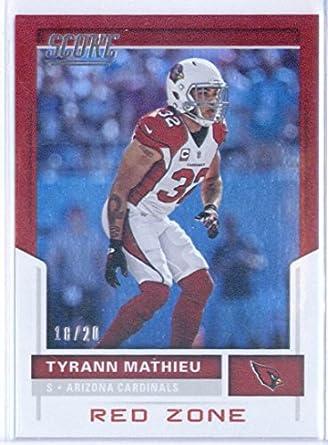 Amazon.com  2017 Score Red Zone  62 Tyrann Mathieu 18 20 Cardinals ... 318875049