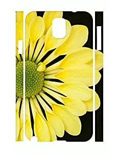 Simple Pure Flower Print Eco TPU Phone Protective Case for Samsung Galaxy Note 3 N9005
