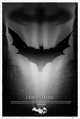 QMX Batman 75th Anniversary Art Print