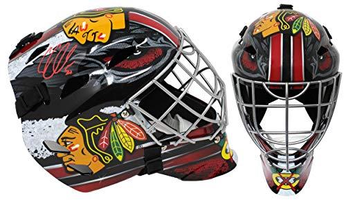 Corey Crawford Signed Chicago Blackhawks Full Size Hockey Goalie Mask - Autographed NHL Helmets and Masks