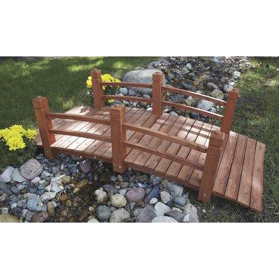 Consumer Sales Network 5-Ft. Long Wooden Decorative Garden ()