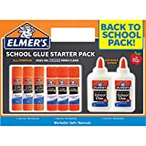 Elmer's #1 Back to School All Purpose Glue Washable/Safe/Nontoxic Starter Pack - 8 Pcs