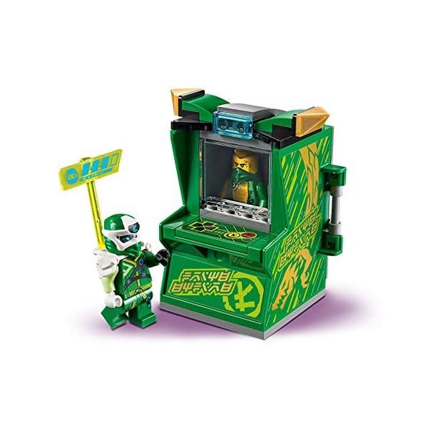 LEGO Ninjago Avatar di Lloyd Pod Sala Giochi con 2 Minifigure: Digi Lloyd con Arma di Controllo Principale e Avatar… 2 spesavip
