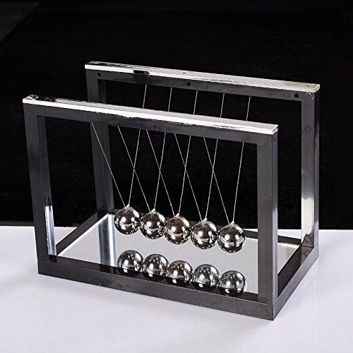 LLL-Größe der quadratischen physikalisches Modell des Newtons Wiege Stoßkugel Desktop-Ornamente , w2422 s -130*75*100mm