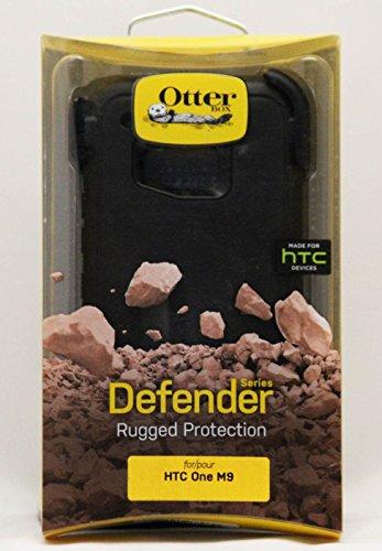 (OtterBox Defender Case for HTC One M9 - Retail Packaging - Black (Black/Black))