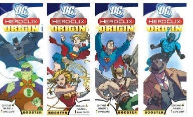 Dc Heroclix Origin Brick (12 Packs)
