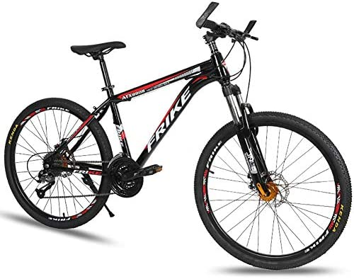 Bicicleta de Montaña,30V, Unisex Adulto, Doble Freno Disco,B ...