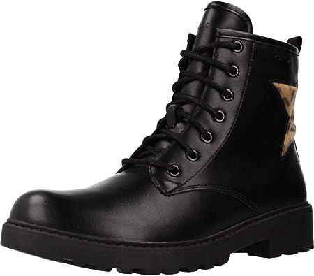 Antagonismo analogía exposición  Geox Casey - Botines Niña: Amazon.es: Zapatos y complementos