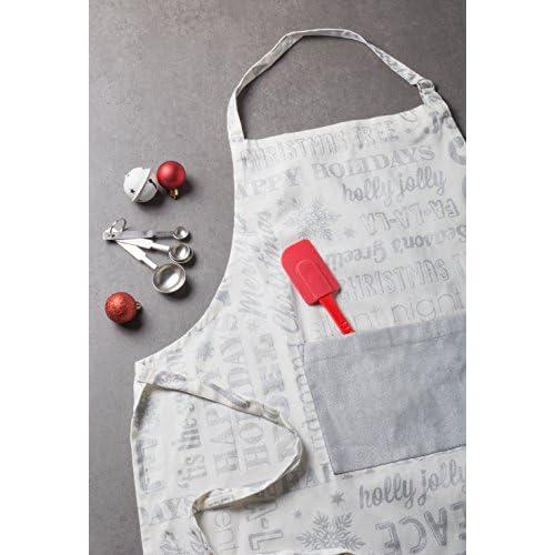 Cotton Christmas Holiday Kitchen Apron - Men & Women