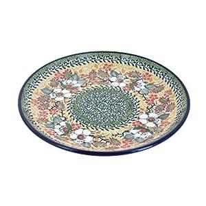 Blue Rose Polish Pottery Jasmine Dessert Plate