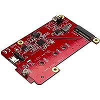StarTech.com Raspberry Pi Board –  USB 2.0 480Mbps – USB to M.2 SATA Converter – USB to SATA Raspberry Pi SSD