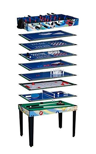 Aire Liga Neptune 12 en 1 Multi juegos mesa: Amazon.es: Deportes y ...