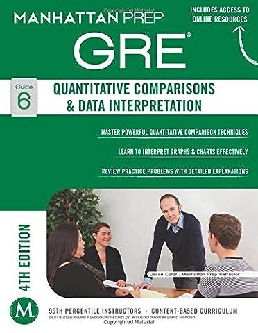 GRE Quantitative Comparisons & Data Interpretation (Manhattan Prep GRE Strategy Guides) (Gre Quantitative Practice)