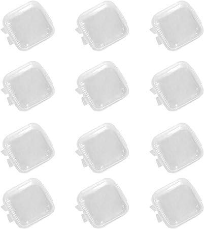 Heallily Cajas de Tapones para los oídos 12 UNIDS Mini Caja de ...