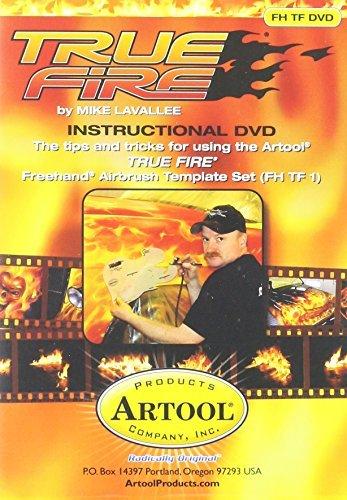 Artool Freehand Airbrush Templates, True Fire Dvd Instructional by Iwata-Medea