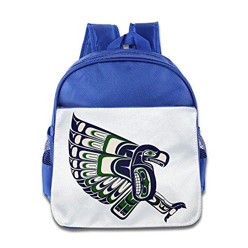 Huma Football Seattles Seahawk Unisex School Knapsack - Prada Seattle