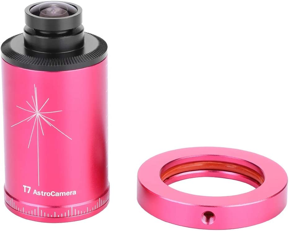 Support for RAW FITS AVI T7C Telescope Electronic Eyepiece Camera Body Lossless Output 1//3 inch CMOS Equatorial Instrument ST4 Guide Star 12 ADC Sampling