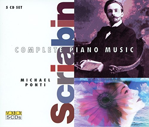 Music Original Piano Complete (Complete Piano Works of Scriabin)