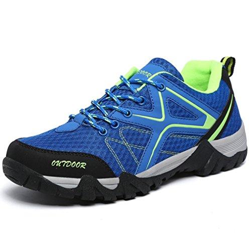 caño Unisex de bleu adulto bajo XIGUAFR botas bright qBn4U117